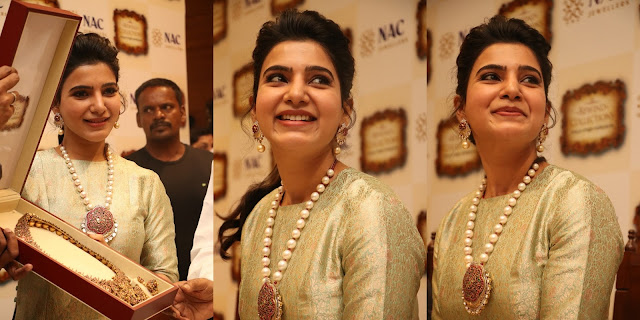 Samantha Ruth Prabhu Launched of NAC Jewellers Antique Exhibition Photos