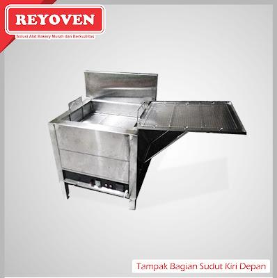 Deep Fryer gas untuk menggoreng dengan hasil krispi dan renyah