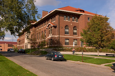 Coffey hall in the summer time.