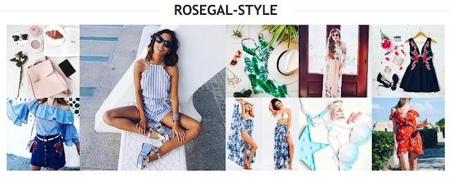 Casual Mini Dresses for summer - Rosegal Wishlist