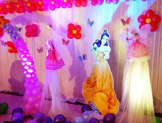 Dekorasi Ulang Tahun Anak Perempuan Tema Princess 11