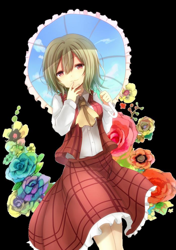 RENDER Kazami Yuuka