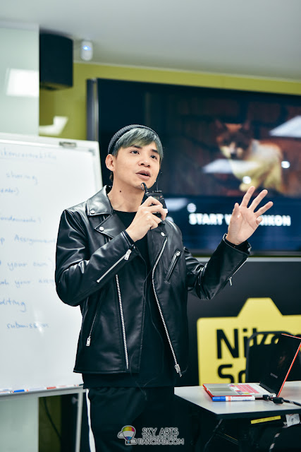 YouTube Video Making Editing Workshop organized by Nikon Malaysia - Low Chin Siang Danny One Nikon D850