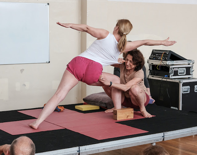 Gabriella Giubilaro, yoga