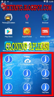Cara Memperbanyak Aplikasi Android (CLONING) Bisa Sampai Puluhan Aplikasi! Bahkan Ratusan Juga Bisa