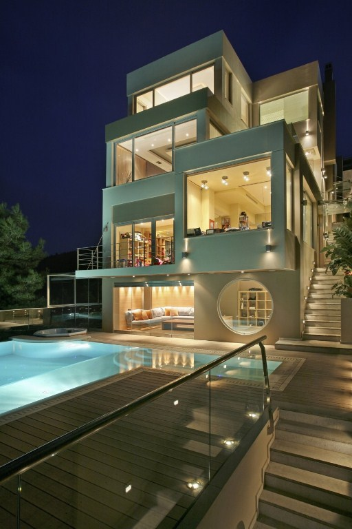 desain rumah futuristik