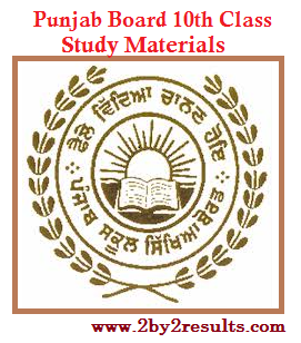 Punjab 10th Study Materials of all Subjects -  PSEB