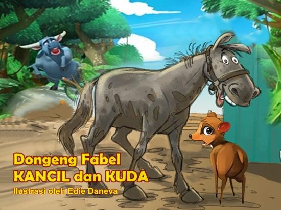 Dongeng Fabel Kuda Kancil Dan Gajah Cerita Anak Dongeng Legenda