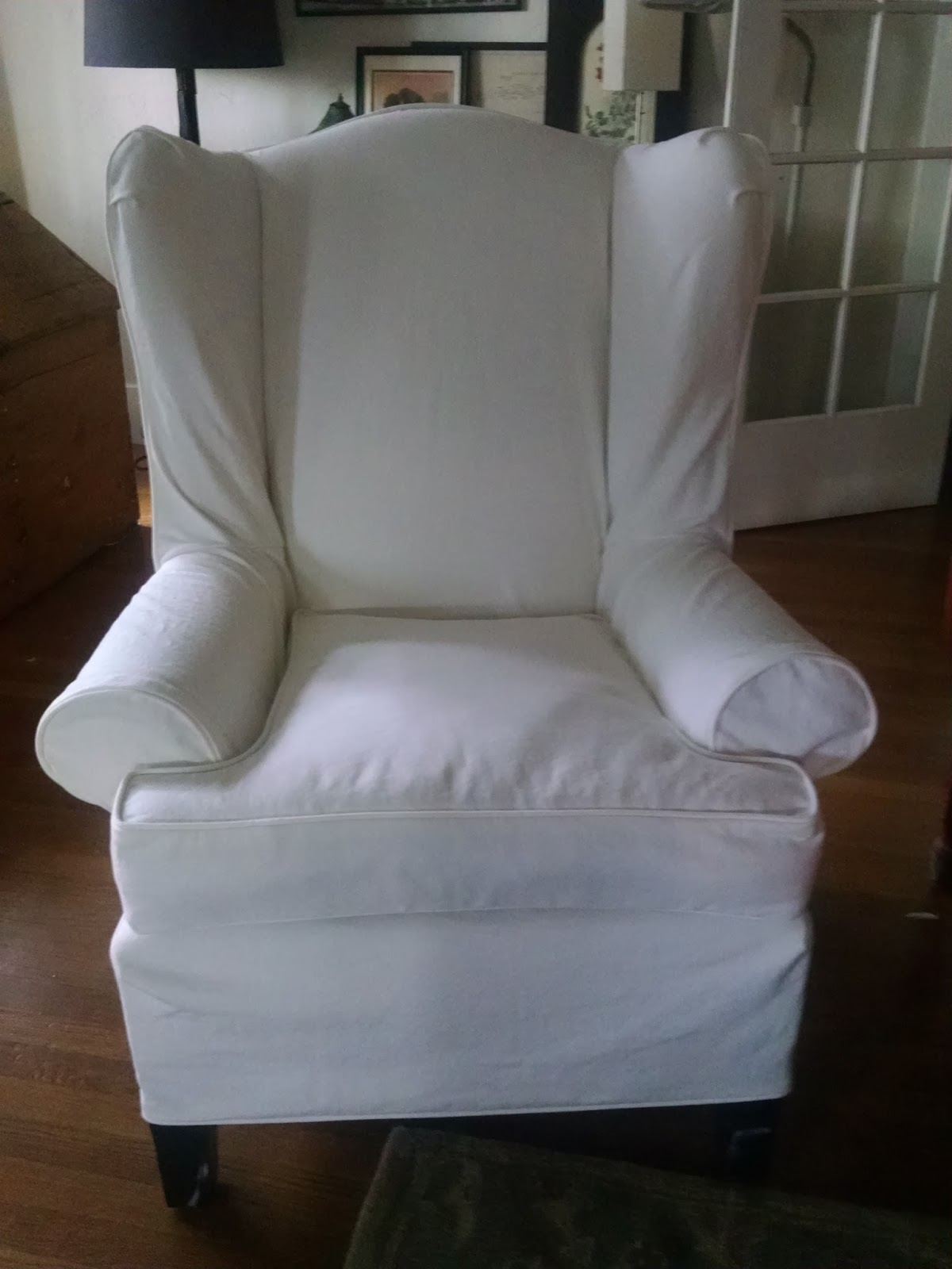 The Chair Has Been Transformed. The Fit Is Perfect!!! The Fabric A  Canvas/duct But Soft And Very Comfortable To Sit In. It Is Like Getting A  New Piece Of ...