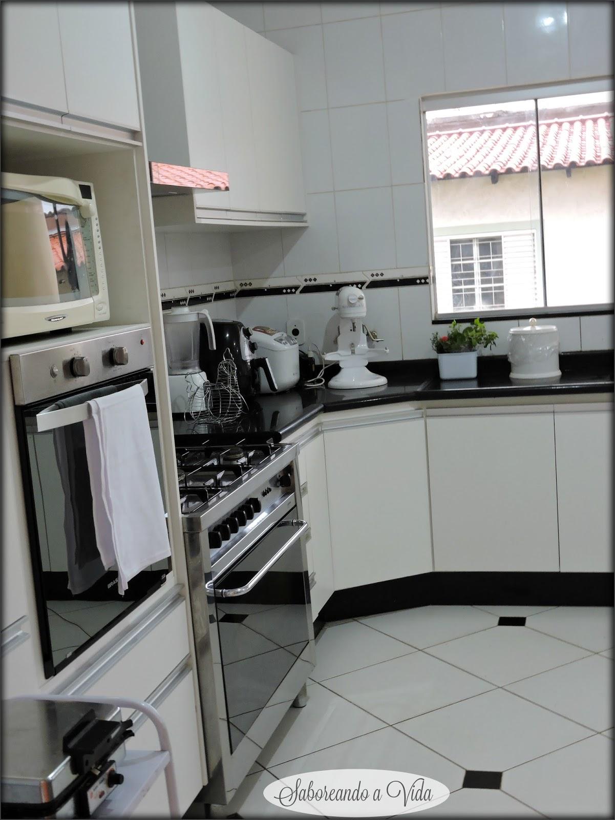 saboreando a vida: Minha Cozinha e Uma idéia de último minuto para o  #615F4F 1201 1600