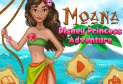 Dress Up Moana