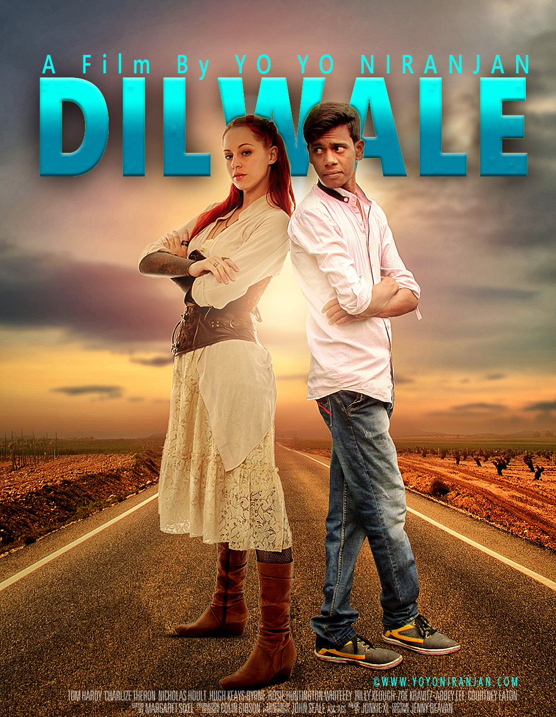 Photoshop tutorial making dilwale movie poster design yo yo niranjan photoshop tutorial making dilwale movie poster design baditri Gallery