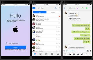 BBM Mod New Iphone Style 3.3.2.31 (iBBM)