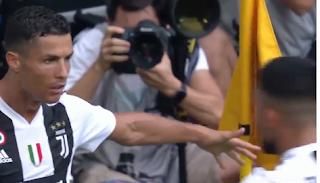 يوفنتوس يفوز على ساسولو بهدفين من توقيع رونالدو