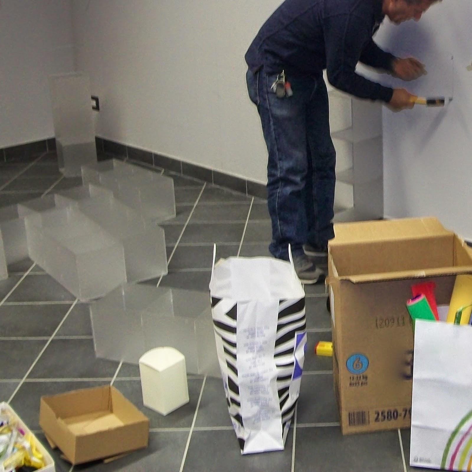 Organizzare lo spazio e arredare con materiali riciclati - Foto 5
