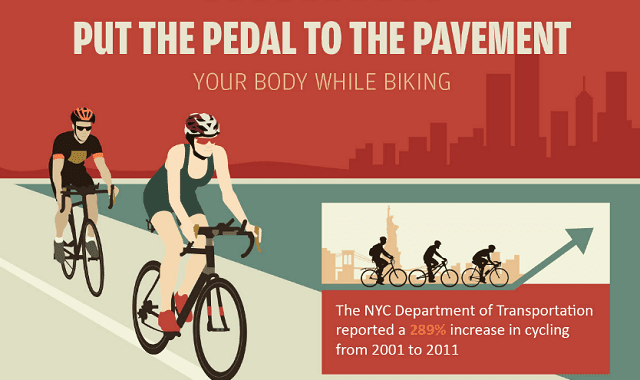Put the Pedal to the Pavement Your Body While Biking