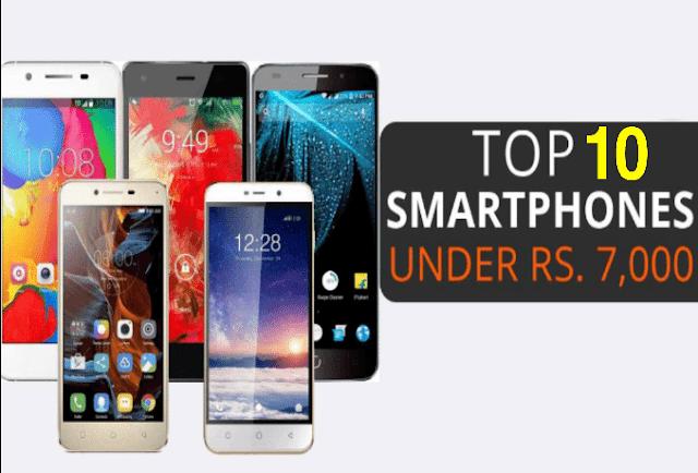 Best Phones Under 7000 List in India In Hindi