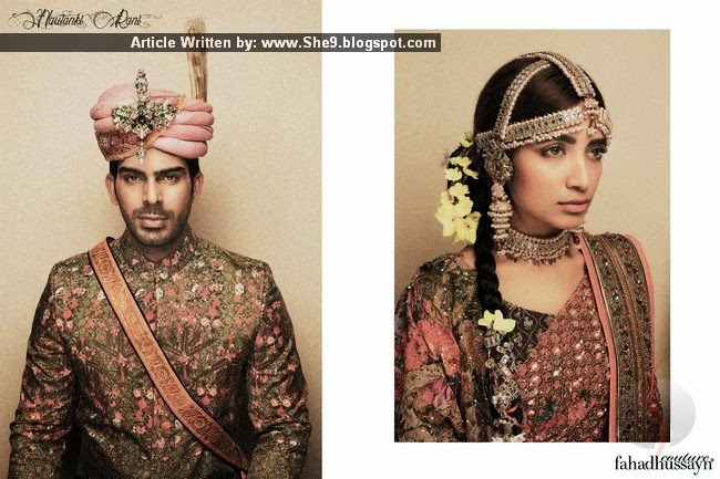 Fahad Hussayn's Bridal Collection for 2015