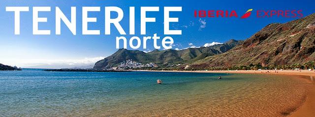 Ruta Vigo - Tenerife Norte, con Iberia Express