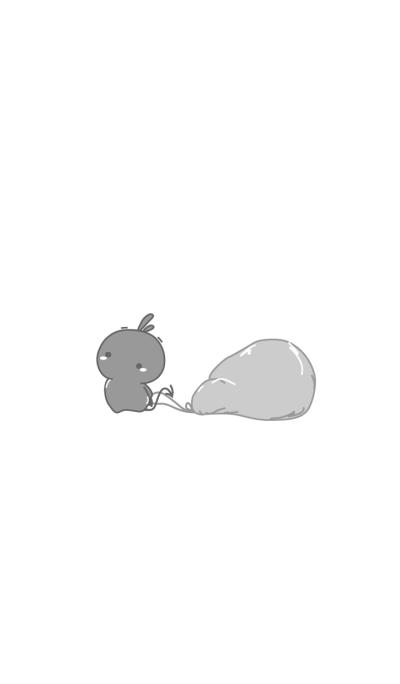 rabbit staring-31
