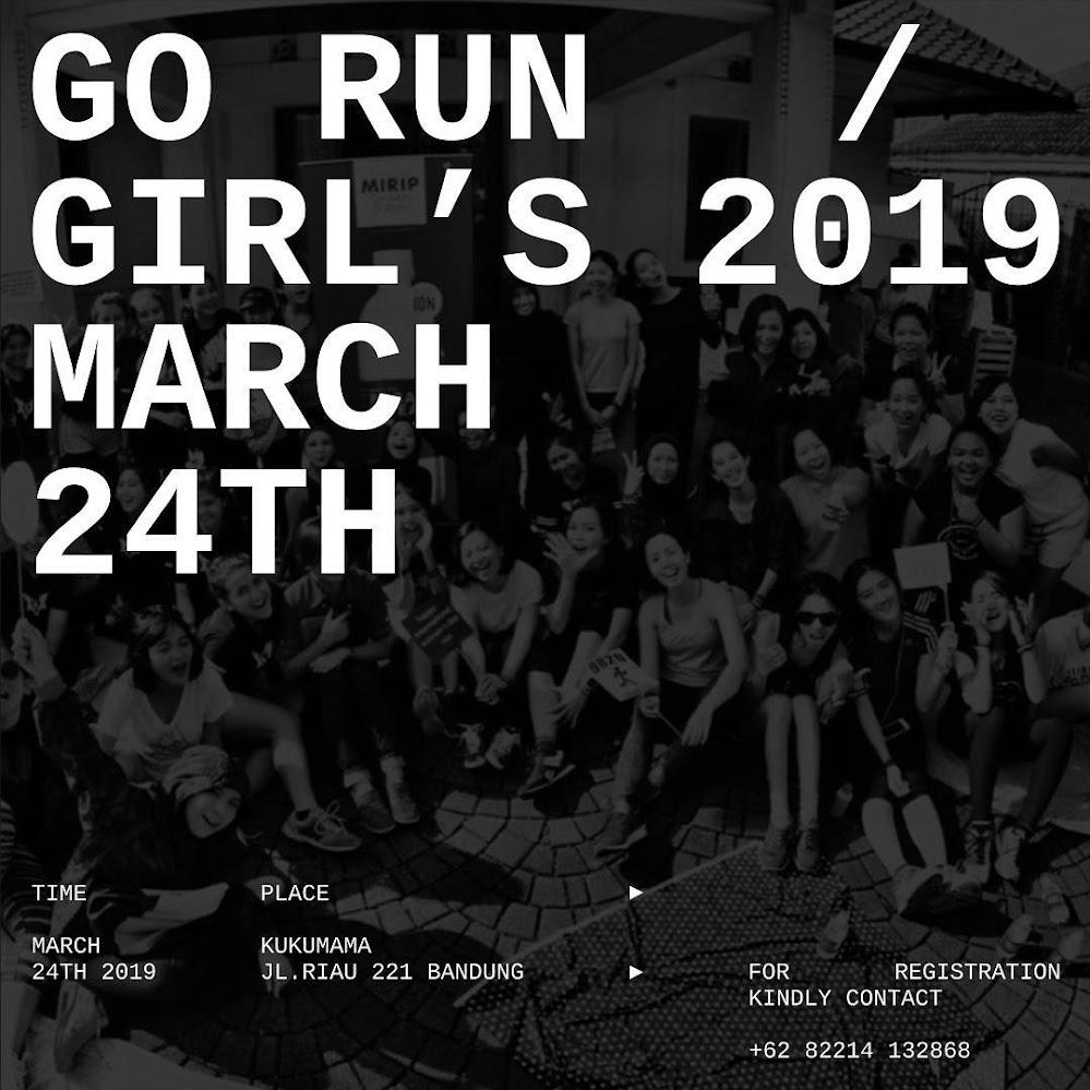Go Run Girl's • 2019