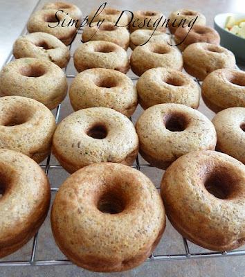 03 Zucchini Donuts with babycakes Donut Maker 15