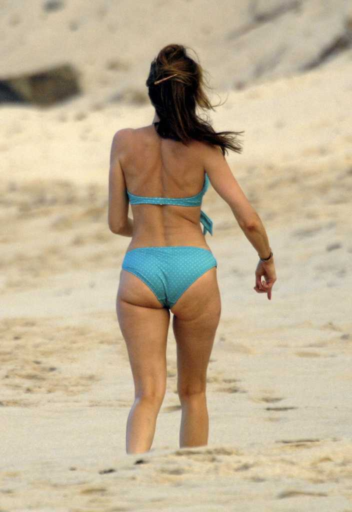 80 Stephanie Seymour S Sexy Bikini Ass  Butt Pics -5424
