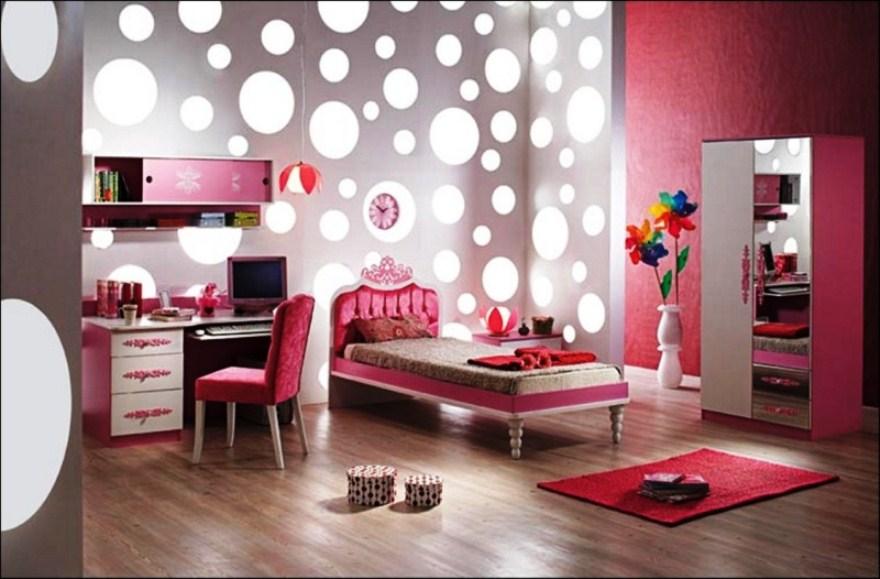 Contoh Motif Wallpaper Dinding Kamar Anak Perempuan