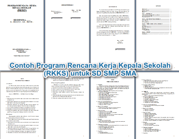 File Pendidikan Contoh Aktivitas Rencana Kerja Kepala Sekolah (Rkks) Untuk Sd Smp Sma