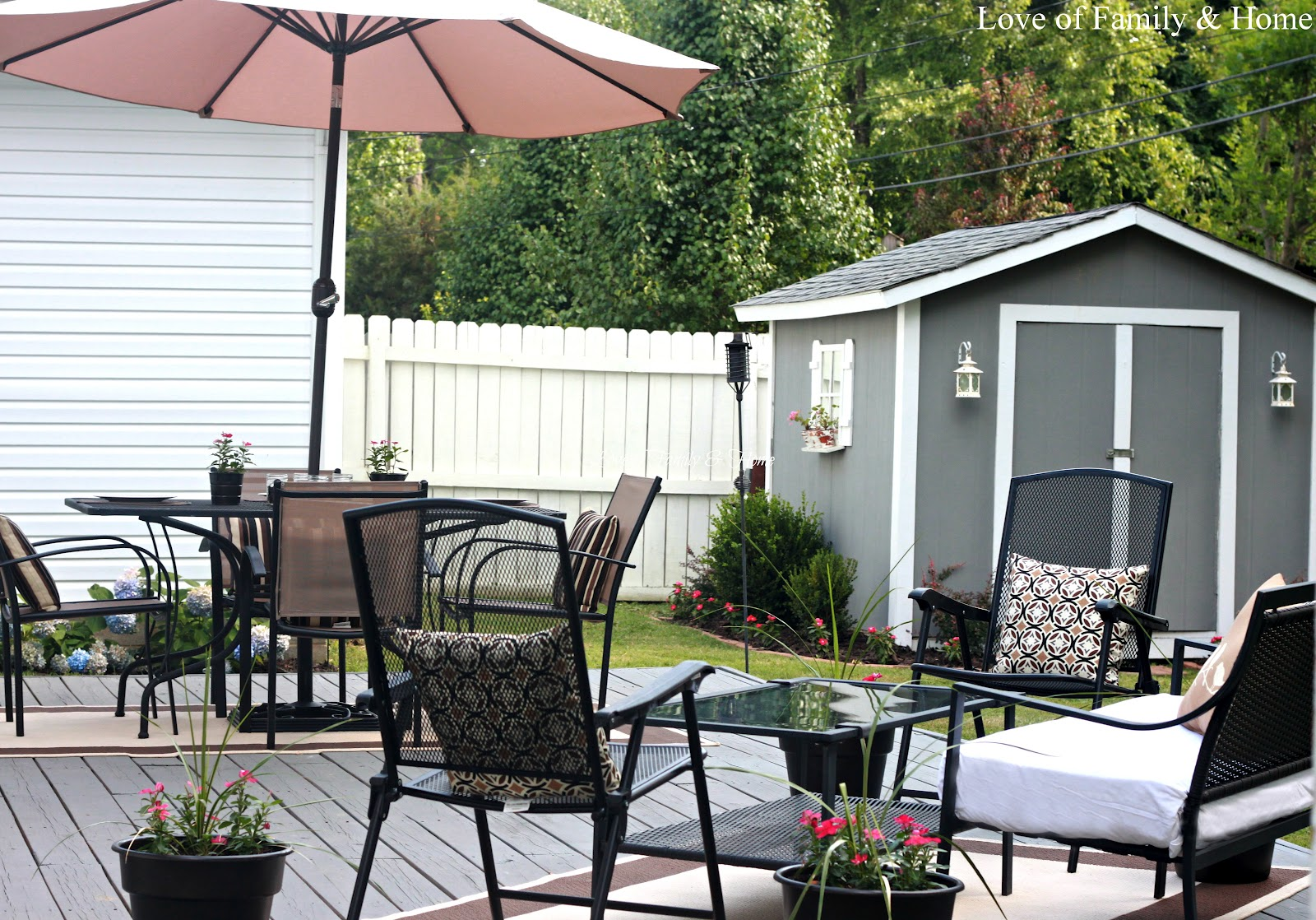 Back Deck/Patio Reveal.... - Love of Family & Home on Back Deck Designs For Houses id=22728