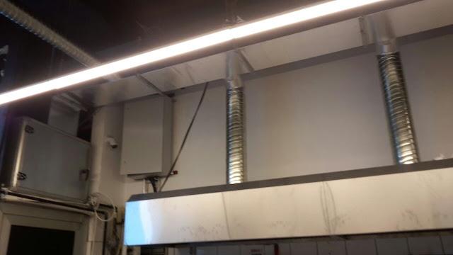 Pastane ve Fırın Havalandırma Sistemi