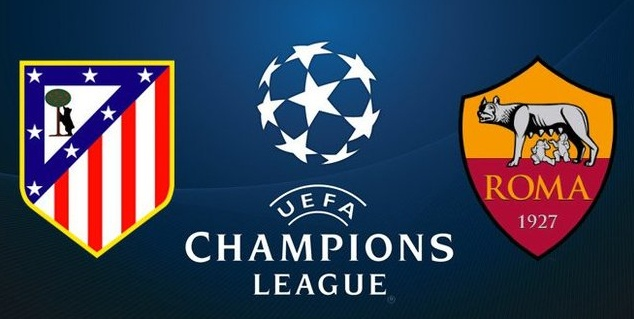 Dove Vedere Atletico Madrid-Roma Streaming Video Diretta Online | Calcio Champions League