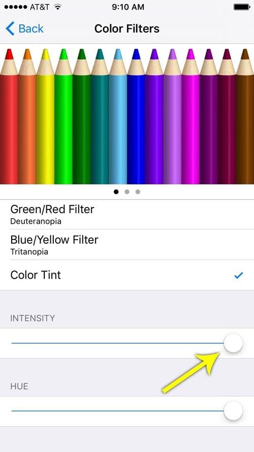 Kích hoạt tính năng Color Tint chống mỏi mắt trên iOS 10