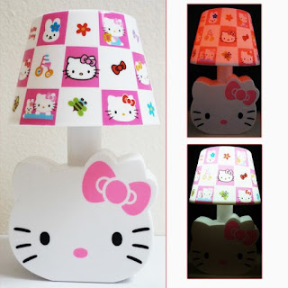 Hello Kitty bedroom design for Daughter