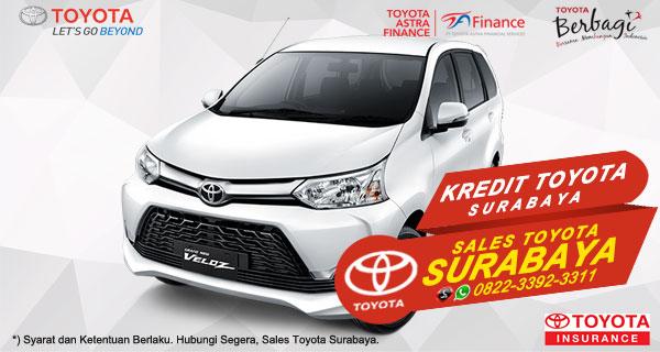 Promo DP Ringan, Paket Kredit Toyota Avanza Veloz Surabaya