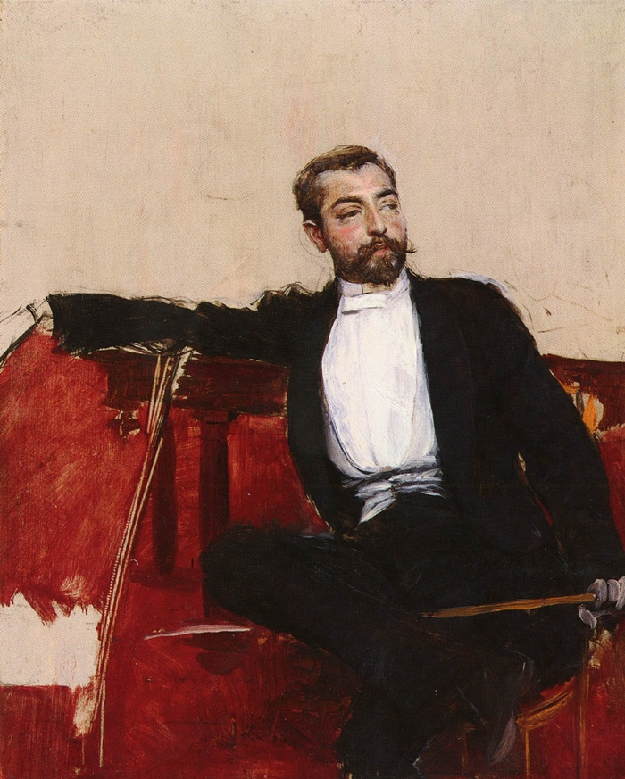 John Singer Sargent 1856-1925 by Giovanni Boldini 1842-1931