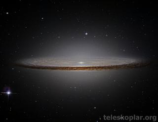 Sombrero galaksisi nedir?