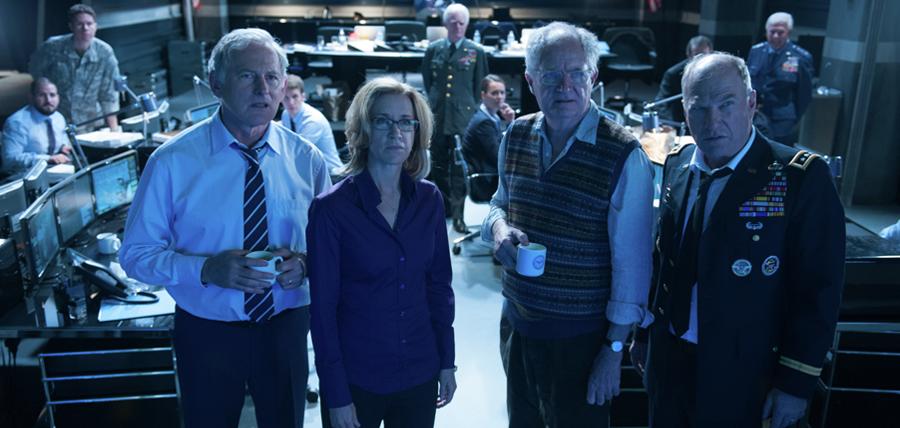 Victor Garber, Felicity Huffman, Jim Broadbent şi Ted Levine în filmul Big Game