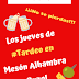 Los jueves de Mesón Alhambra Puzol: tercio + tapa por 1,30 euros