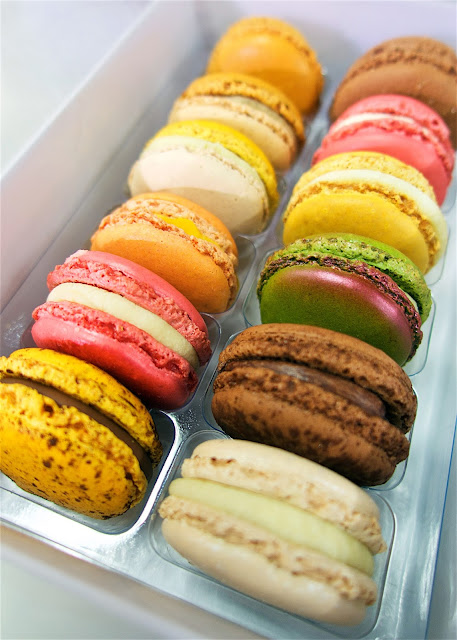 Pierre Hermé macarons in Paris - the creme brûlée were my favorite!
