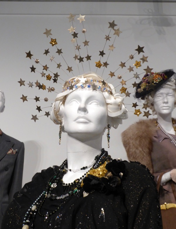 Florence Foster Jenkins star costume headdress