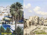 Inilah Foto Perbandingan Aleppo Sebelum dan Sesudah Perang Yang Bikin Merinding