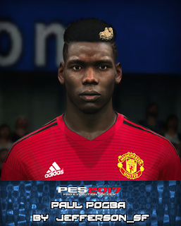 PES 2017 Faces Paul Pogba by FaceEditor Jefferson_SF