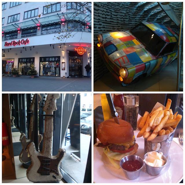 Onde comer em Berlim - Hard Rock Cafe