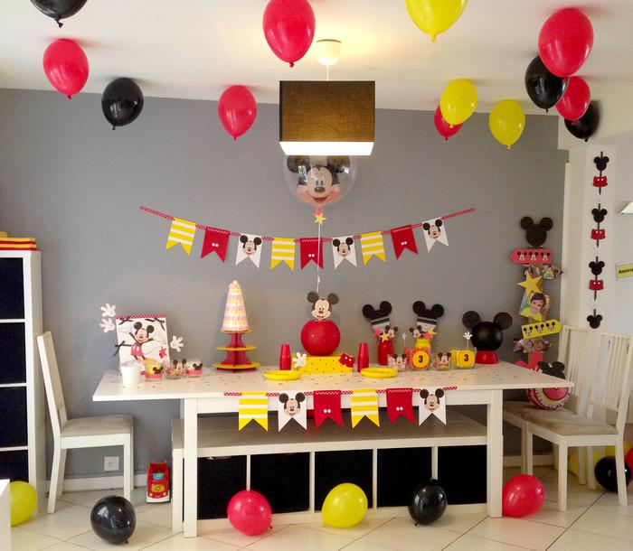 un troisi me anniversaire mickey 100 fait maison le. Black Bedroom Furniture Sets. Home Design Ideas