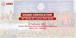 Grand Convocation Ceremonies of SRMS Institutions on February 8