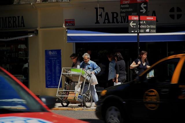 Vendedor de café callejero