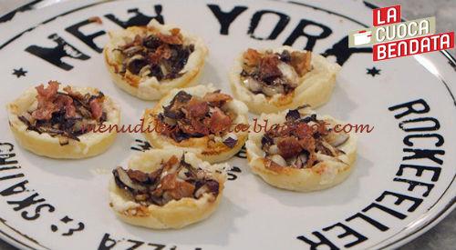 La Cuoca Bendata - Salatini e pizzette ricetta Parodi