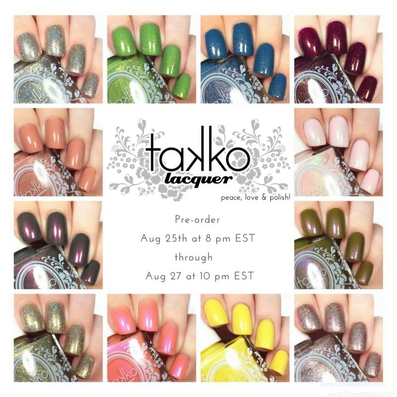 Takko Lacquer Pre Order