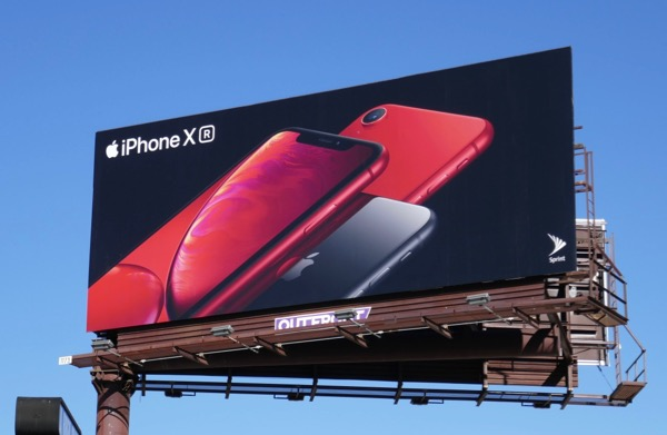 Apple iPhone XR billboard